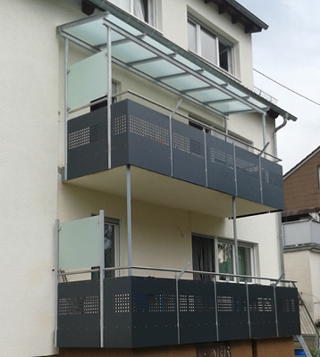 Metallbau Balkone
