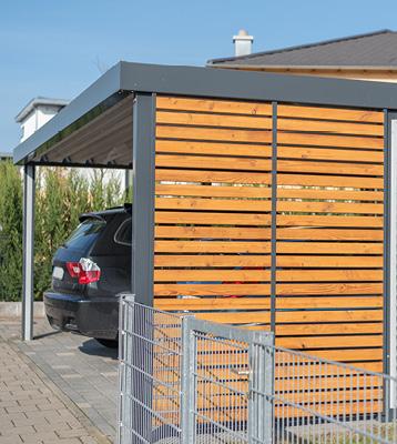 Metallbau Carport